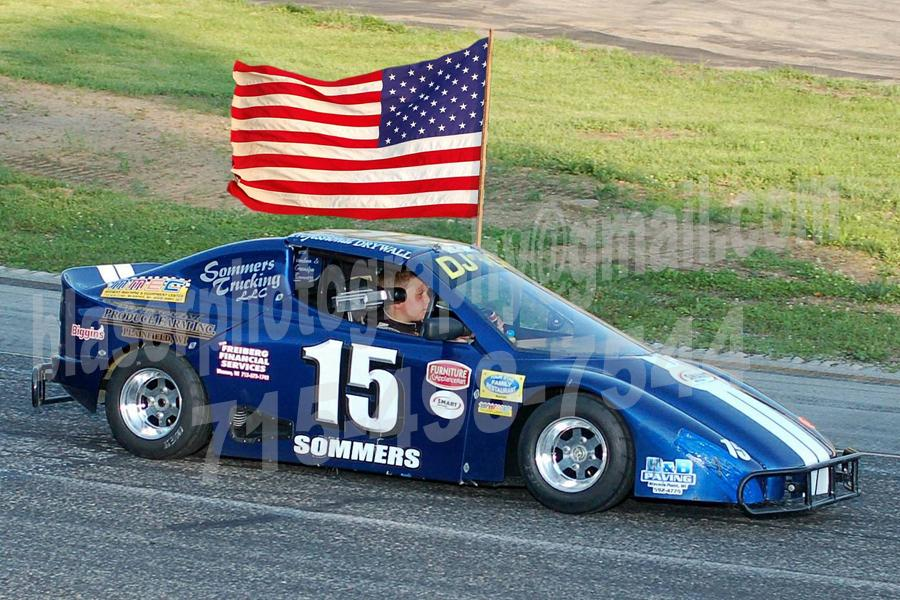 Gabe Sommers Clean Sweep at State Park Speedway