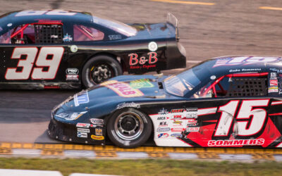 Sommers vies for Dells win, finishes third