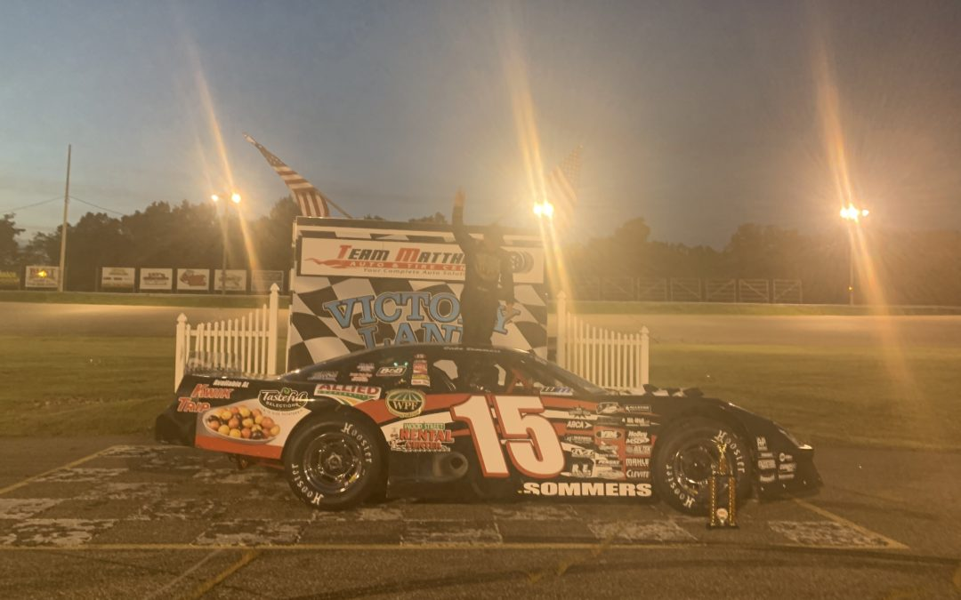 Sommers Wins Second Straight