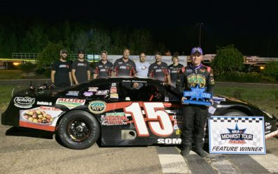 Sommers Takes the Checkers at State Park Speedway for First ARCA Midwest Tour Win