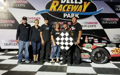 Sommers Wins at Dells Raceway Park